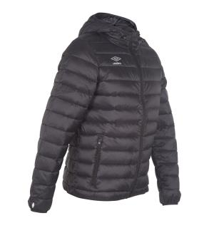 UMBRO Core Down Jacket jr Sort 164 Myk og deilig dunjakke for barn