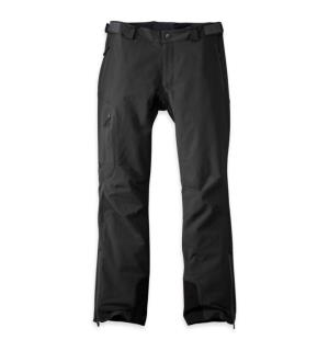 OR Cirque Pants Sort S Teknisk softshell bukse til herre.